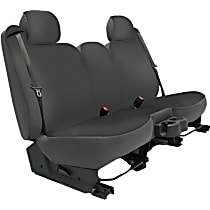 Seat Designs Genuine Neoprene Second Row Seat Cover - Charcoal (Mfr. Color), Custom Fit