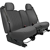 Seat Designs Duramax Tweed Second Row Seat Cover - Charcoal (Mfr. Color), Custom Fit