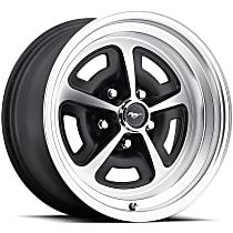 Satin black Finish Wheel - 15 in. Wheel Diameter X 7 in. Wheel Width