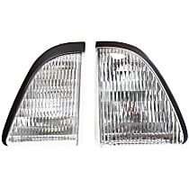 Driver and Passenger Side Parking Light, Without bulb(s)