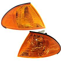 Driver and Passenger Side Corner Light, With bulb(s) - Sedan/Wagon