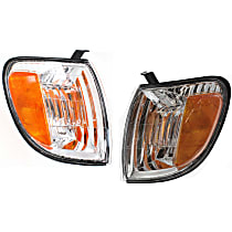 Driver and Passenger Side Turn Signal Light, With bulb(s) - Regular/Access Cab, With Prod Date Up to 8/2004