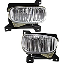 Fog Light - Driver and Passenger Side, with Steel Bumper