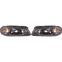 Driver And Passenger Side Headlight, With bulb(s) - 00-04 Impala (Production date up to 2-05-04)