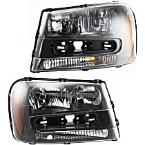 Driver and Passenger Side Headlight, CAPA CERTIFIED