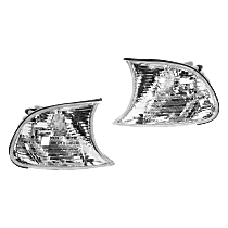 Driver and Passenger Side Corner Light, Clear Lens, Coupe/Convertible, Vehicle Production Date: Up to 09/2001