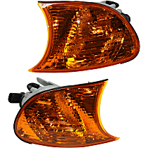 Driver and Passenger Side Corner Lights, Amber Lens, Coupe/Convertible, Vehicle Production Date: Up to 09/2001