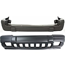 Front and Rear Bumper Cover, Textured