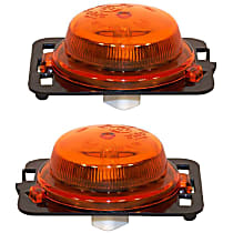 SET-55077894AD-F Front, Driver and Passenger Side Side Marker, Without bulb(s)