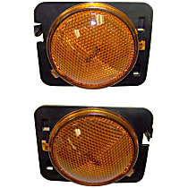 SET-55078144AA-F Front, Driver and Passenger Side Side Marker, Without bulb(s)