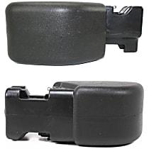 SET-55155756AB-F Front, Driver and Passenger Side Plastic Bumper End, Primed