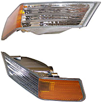SET-68004180AB-F Driver and Passenger Side Turn Signal Light, Without bulb(s)
