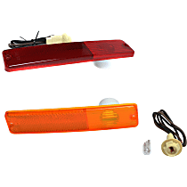 SET-994020K Front, Driver and Passenger Side Side Marker, With bulb(s)
