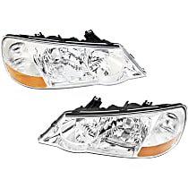 Driver and Passenger Side HID/Xenon Headlight, Without bulb(s)