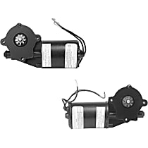 SET-A142312-F Front, Driver and Passenger Side Window Motor, Remanufactured