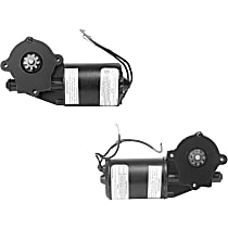 Front, Driver and Passenger Side Window Motor, Remanufactured