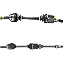 Front Driver and Passenger Side Axle Assembly - New