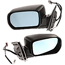 Mirror - Driver and Passenger Side (Pair), Power, Heated, Paintable, With Memory, For Models With Touring Package