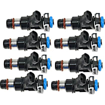 Fuel Injector - New, Set of 8