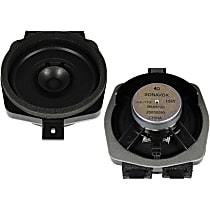 SET-AC25858090 Speaker - Black, Direct Fit, Set of 2