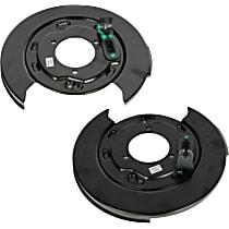 SET-AC25911891-R Brake Backing Plate - Direct Fit, Set of 2