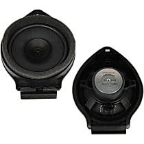 SET-AC25943916 Speaker - Black, Direct Fit, Set of 2