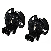 AC Delco SET-ACLS115 Bulb Socket - Parking light/turn signal light, Direct Fit, Set of 2