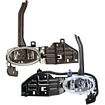 Fog Light Assembly - Driver and Passenger Side, Sedan, Factory Installed