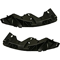IN1066106 Front Left Bumper Bracket Made Of Plastic Fits Infiniti G37 2008-2013