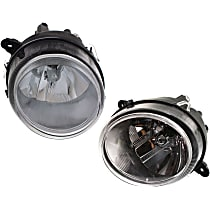 Driver and Passenger Side Halogen Headlight, With Bulb(s) - Without Leveling System