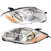 Driver and Passenger Side Headlight, With bulb(s) - (Convertible To 01-07-07)/(Coupe/HB To 1-1-07)