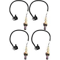 Oxygen Sensor - Before and After Catalytic Converter, Set of 4