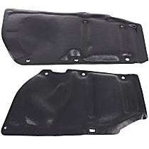 Engine Splash Shield - Driver and Passenger Side, Side Engine Cover