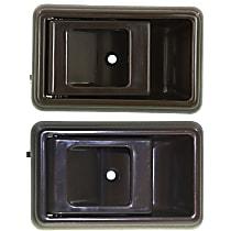 Interior Door Handle - Front, Driver and Passenger Side, Brown