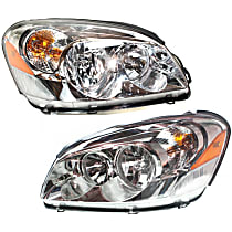 Driver and Passenger Side Headlight, With bulb(s) - CX Model