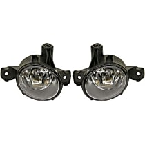 Fog Light Assembly - Driver and Passenger Side, without Adaptive Headlights