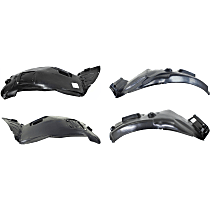 Fender Liner - Front, Driver and Passenger Side, Front and Rear Section, Sedan/Wagon, without M-Sport Package
