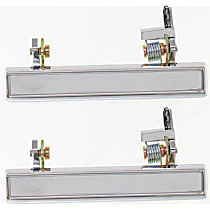 Exterior Door Handle - Front and Rear, Driver Side