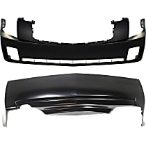 Front and Rear Bumper Cover, Primed - 2.8L/3.2L Eng
