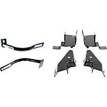 Front, Driver and Passenger Side Bumper Bracket - Base/LS/LT Models, Old Body Style