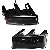 Driver and Passenger Side Headlight - 04-12 Colorado / 04-12 Canyon, Model Without Xtreme Pkg.,