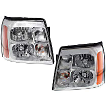 Driver and Passenger Side HID/Xenon Headlight, Without Bulb(s) - ESV/EXT Models