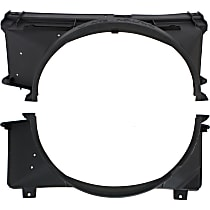 Fan Shroud - Upper and Lower, For Radiator Fan - 5.0L/5.7L Gas Engine
