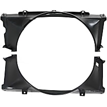 Upper and Lower Fan Shroud, Fits Radiator Fan