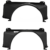Fan Shroud - Upper and Lower, For Radiator Fan, 4.8L and 5.3L Engines