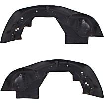 Fender Liner - Front, Driver and Passenger Side, Inner Section, RWD