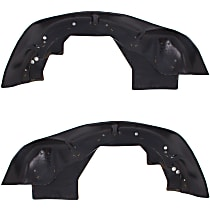 Fender Liner - Front, Driver and Passenger Side, Inner Section
