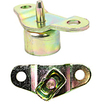 Tailgate Hinge - Driver and Passenger Side, Direct Fit, Set of 2