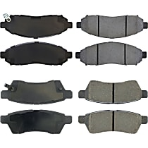 SET-CE105.10940-C Centric Posi-Quiet Front And Rear Brake Pad Set