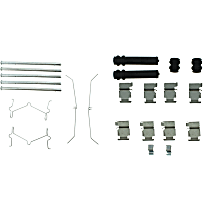 Brake Hardware Kit - Direct Fit, Set of 2 Front and Rear